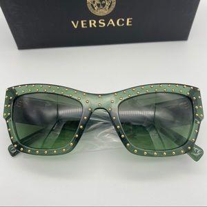 Versace Transparent Green Sunglasses VE4358
